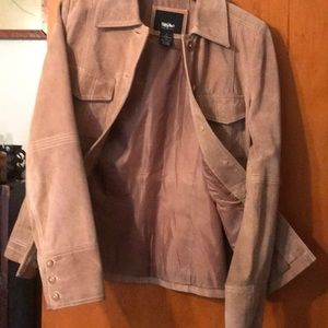 Mossimo Supply Co. Jackets & Coats - Target Mossimo suede leather jacket